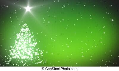 farben, grün, weihnachten, animation, fröhlich