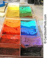 farben, künstlerisch