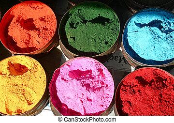 farben, sechs