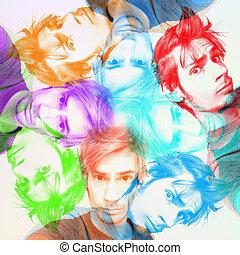 farben, trippy