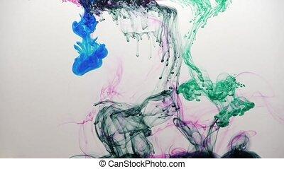 Farbige Tinte / colored ink - Farbige Tinte. Kann als Effekt...
