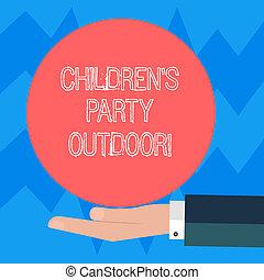 farbować fotografię, znak, trzymał, czysty, logo, dzieci, outdoor., zewnątrz, dom, konceptualny, partia, koło, posters., święto, propozycja, pokaz, garnitur, hu, ręka, dzieciaki, stały, analiza, s, tekst