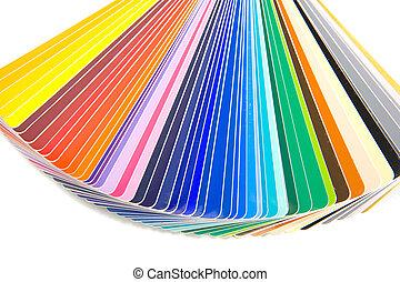 farbować kartę