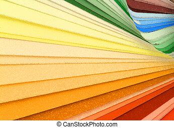 farbować próbki