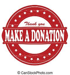 fare, donazione
