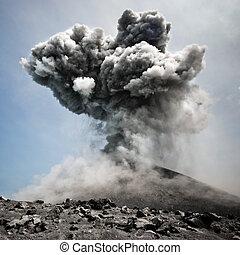 farefulde, eksplosion