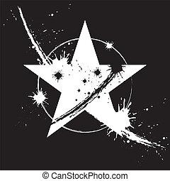 farefulde, stjerne