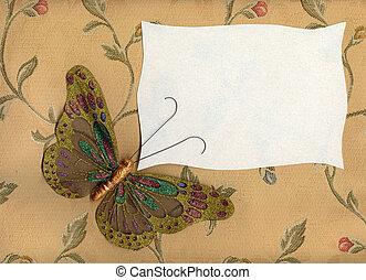 farfalla, 1, tessuto, textiles