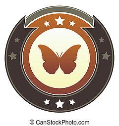 farfalla, bottone, imperiale