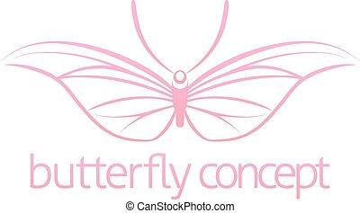 farfalla, concetto