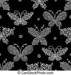 farfalla, disegno configurazione, tuo