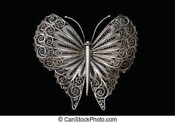 farfalla, filigrana