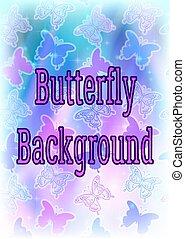 farfalla, fondo