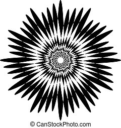 farfalla, lumaca, effetto, sfondo nero, trasparente