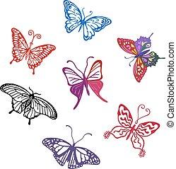 farfalla, set