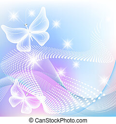 farfalla, stelle