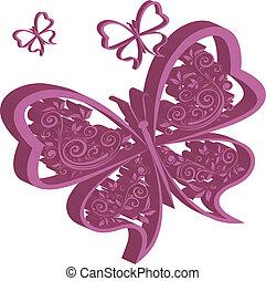 farfalle, 3d