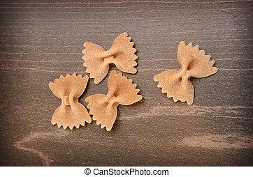 Whole grain farfalle