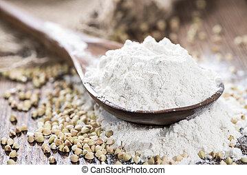 farinha, montão, trigo mourisco