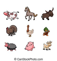 farm animal illustration design