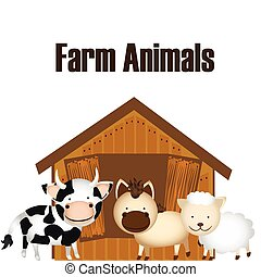 farm animals design