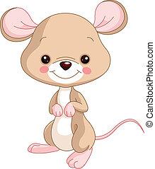 Farm animals. Mice - Farm animals. Illustration of cute Mice...
