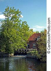 Farm at Flatford Mill, Suffolk, UK