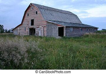 Farm Barn - A barn in southern Sask. Canada