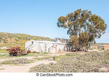 Farm buildings at Soutfontein