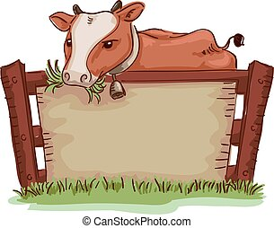 Farm Cow Board