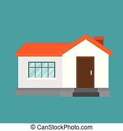 farm cute house icon
