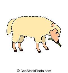 farm cute mammal animal cartoon