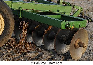 Farm Equipment - Farm equipment ready for use