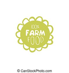 Farm Food Label Design