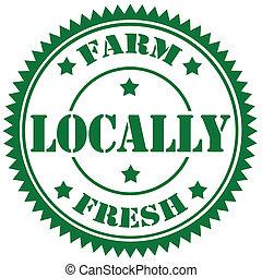 Farm Fresh-stamp