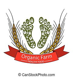 farm-healthy, 食物, 有機体である