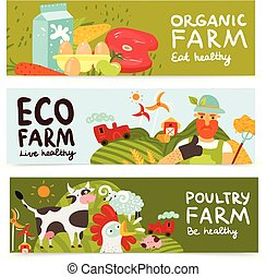 Farm Horizontal Banners