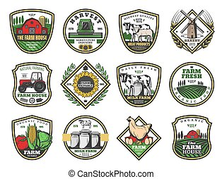 Farm house agriculture, farming food products