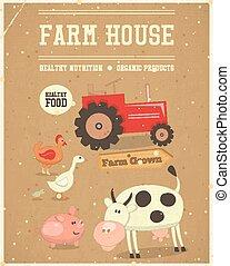 Farm House Poster