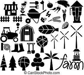 Farm Icon Vector