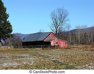 Farm in New England