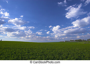 Farm lands of Lancaster county