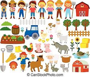 Farm Life Clipart
