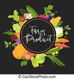 Farm product vegetables fresh organic spice herb natural...