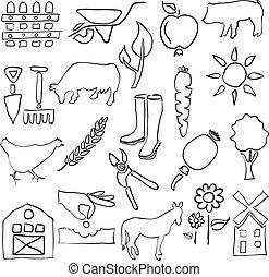 farm sketch images