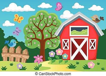 Farm topic background 1