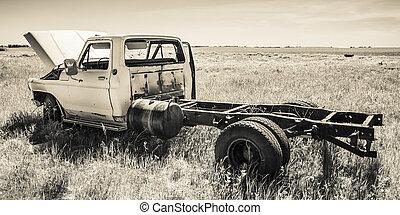Farm Truck in the Field
