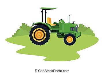 farm truck tractor