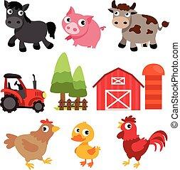farm vector collection design