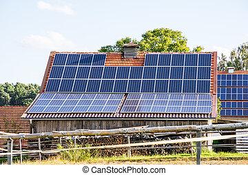 Farm with Solar Energy